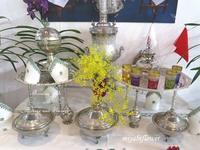 世界らん展2019大使・大使夫人のテーブル・ディスプレイ  後編 - 風と花を紡いで
