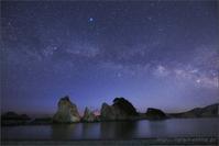 第25回さじアストロパーク星景写真コンテスト 佳作 - 遥かなる月光の旅