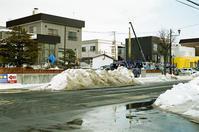 汚れた雪で馬糞風を思い出したことと昨夜の余震 - 照片画廊