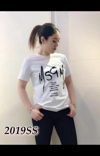 人気の「MSGM」ロゴTシャツ入荷です♪ - UNIQUE SECOND BLOG