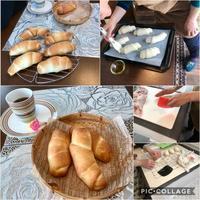 塩パンレッスン&試行錯誤のパン - カフェ気分なパン教室  ローズのマリ