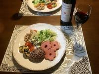 ワインとワンプレート - カフェ気分なパン教室  ローズのマリ