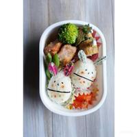 鮭の塩麹唐揚げ弁当 - cuisine18 晴れのち晴れ