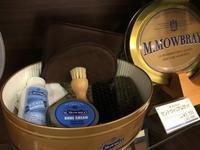 選ばれるのには理由がある【M.MOWBRAY】 - 池袋西武5F靴磨き・シューリペア工房