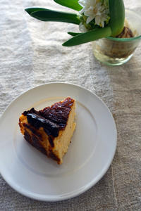 バスクチーズケーキ実験その1 - PASSAGE