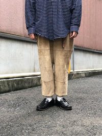 "~1990's ""LUREN"" Suede Pants - BAYSON BLOG"