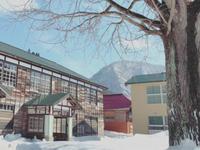 雪景色の喰丸小学校へ 昭和村 - C* 日和