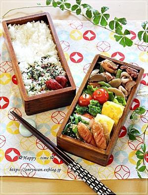 イカと根菜の煮物弁当と今夜のおうち呑み♪ -