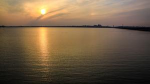 ある日の夕陽夕焼け - 花詩集