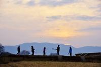 日の出の頃の過ごし方(笑) @ 平城宮跡 - 東大寺が大好き