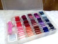 ☆いろいろな色・刺繍糸の箱☆ - ガジャのねーさんの  空をみあげて☆ Hazle cucu ☆