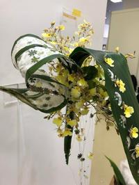 おかげさまで、無事搬入を終えました。 - **おやつのお花*   きれい 可愛い いとおしいをデザインしましょう♪