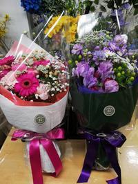 卒業、卒園、お祝い花など承ります。 - double knit clover(ダブルニットクローバー) ブライダルフラワー 京王線