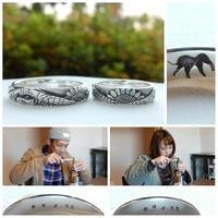 象とひまわりの結婚指輪オーダーメイド 岡山 - 工房Noritake