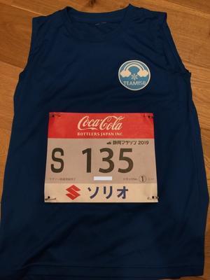 静岡マラソンの勝負服 - カミのBU日誌