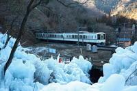 芦ケ久保の氷柱ラスト - 日本あちこち撮り歩記