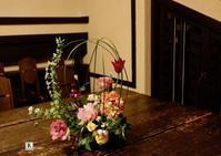 「春の鳥かご」をいける - Bouquets_ryoko