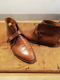 【John Lobb London】掘り出し物のジョンロブビスポークシューズ染め替え① - Shoe Care & Shoe Order 「FANS.浅草本店」M.Mowbray Shop