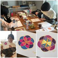 神聖幾何学ハレアート体験講座開催しました~2月~ - 暮らしの中のひとつ。