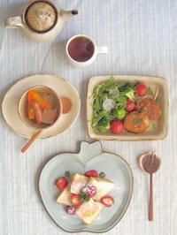 シュガートーストの朝ごはん - 陶器通販・益子焼 雑貨手作り陶器のサイトショップ 木のねのブログ
