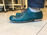 青靴 - 手づくり靴 仄仄工房(ホノボノコウボウ)