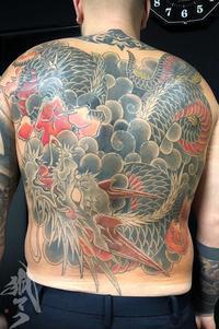 カバーアップ◎ - 兵庫県 神戸 明石 タトゥー 肌絵屋 福助