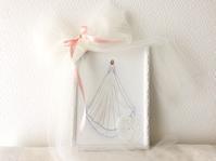 純白なウェディングドレス画 - kiihowa blog***