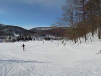 """からまつ公園で歩くスキー - ときどきの記 by 小樽の出版社""""ウィルダネス""""のブログ"""