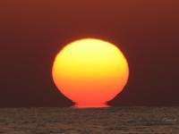 夕日 - 今日の空+α2