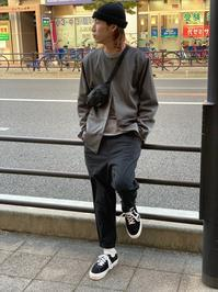 """BORDER L/S TEE"" style~KODAI~ - DAKOTAのオーナー日記「ノリログ」"