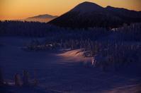 樹氷原へ朝日が届く - 888WebLog