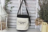 ハンプの刺繍入りバケツ型バック - Petit mame