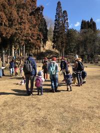 2月12日親子の会 - 森のようちえん「こどもの庭」日記
