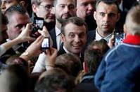 『マクロン仏大統領の支持率が上昇』/ ロイター画像 - 『つかさ組!』