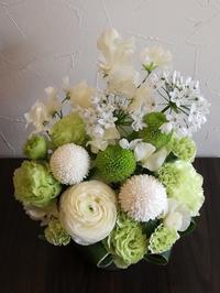白とグリーン - フラワーショップデリカの花日記