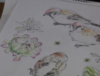 3号下絵 - 絵と庭