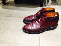 色々なコードバンの磨き方 - シューケアマイスター靴磨き工房 銀座三越店