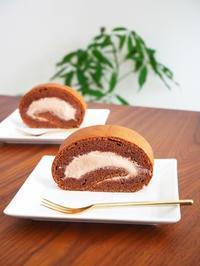 チョコロールケーキ♪ - This is delicious !!