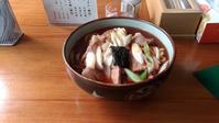 2月26日のランチは笹川食堂の肉うどん - 庄内オッサンランチタイム