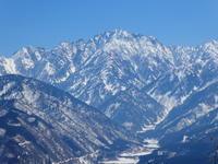 剱岳展望の山千石城山 (717.6M)      下山 編 - 風の便り