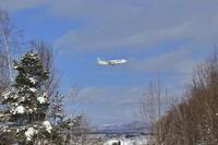 針の穴~旭川空港~ - 自由な空と雲と気まぐれと ~from 旭川空港~