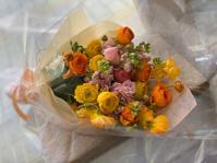 ラナンキュラスの花束 - ルーシュの花仕事