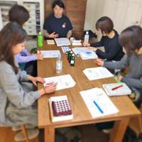 「刺繍教室 de ホメオパシー講座 第1期(6)」開催しました。 - 浜松の刺繍教室 l'Atelier de foyu の 日々