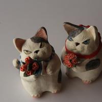 第20回猫展岡村洋子さんの作品 - くわみつの和み時間