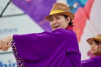 2018おの恋おどりその22(桔梗) - ヒロパンのよさこいライク・Nバンライフ