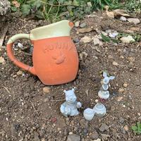 ルンルン − 庭園 - お茶畑の間から ~ Ke-yaki Pottery
