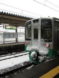 雪の境界駅に集う列車たち~直江津駅 2019・冬 - タビノイロドリ