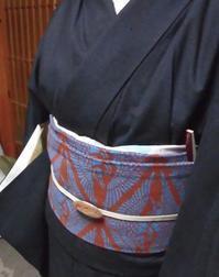 田中昭夫さん の帯 - 月下逍遥
