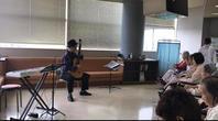 高砂市民病院での演奏 - 只管打楽