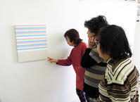 一般クラス「ミニマルアートに挑戦!」ご紹介 - 大阪の絵画教室|アトリエTODAY